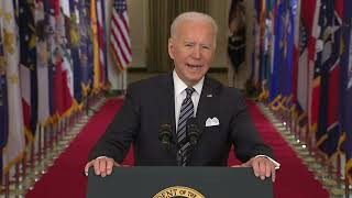 Download Full speech: President Biden's first prime-time address to the nation