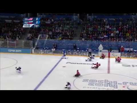 Gold-medal Full Game| Ice Sledge Hockey | Sochi 2014 Paralympic Winter Games