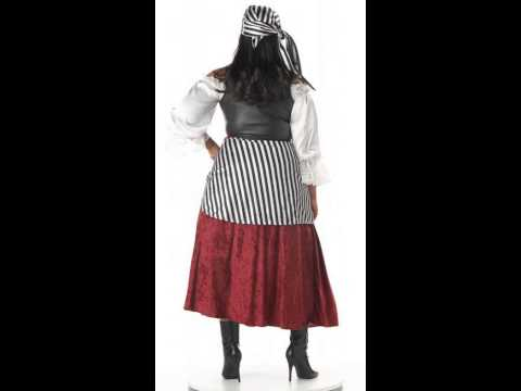Pirate's Wench Adult Plus Women's Costume