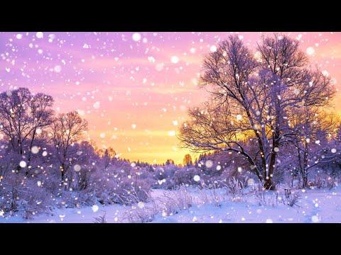 Snowy Winter Sunrise Landscape Acrylic Painting LIVE Tutorial