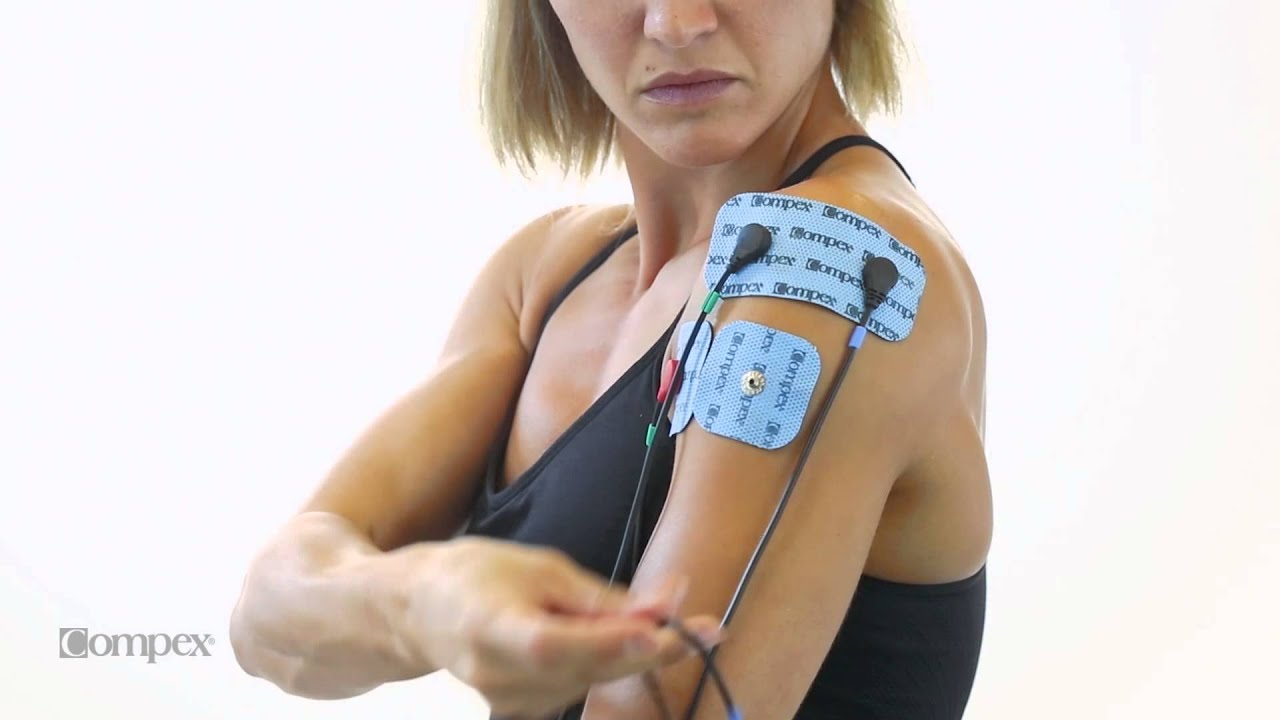 Later Anterior Deltoid Head Electrode Placement For Compex Muscle