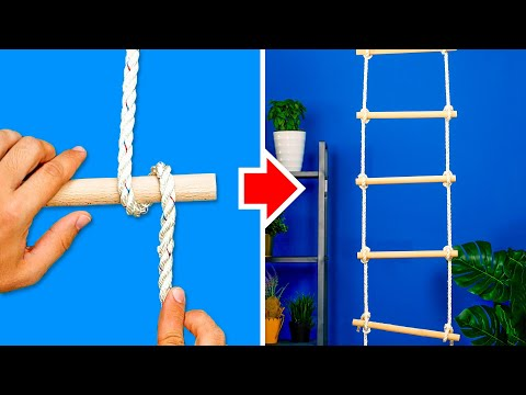 29 ESSENTIAL KNOTS TO SURVIVE EVERYTHING! | How to tie the most useful knots in the world