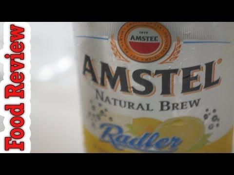 Food Review - Amstel Radler - Μπύρα με Λεμόνι