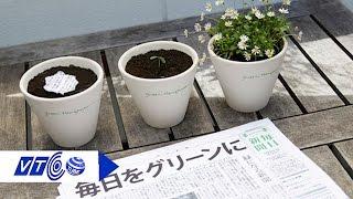 Kỳ lạ tờ báo ... mọc cây xanh | VTC