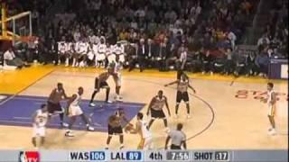 Rookie Jordan Farmar (13pts) vs. Wizards (2006)