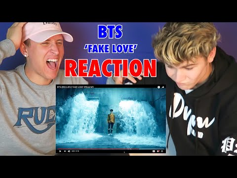 BTS (방탄소년단) 'FAKE LOVE' Official MV - REACTION **MUST WATCH**