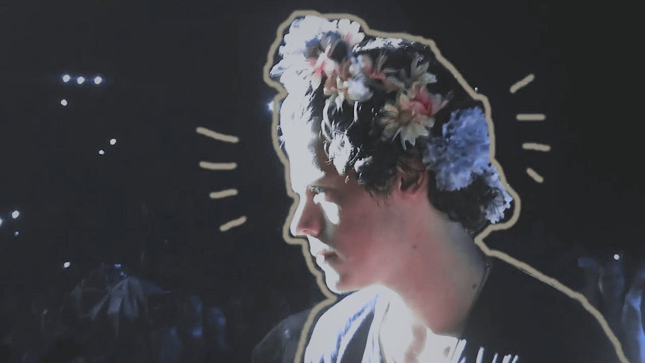 Harry Styles Flowers Crowns Youtube