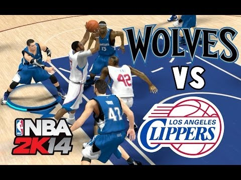Wolves vs Clippers | NBA 2K14 Salon de la Fama en Español