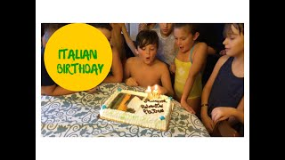 Learn Italian - How to wish and sing HAPPY BIRTHDAY