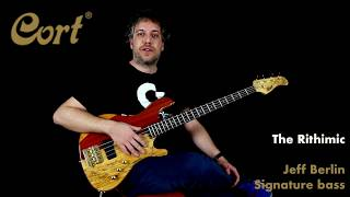 """""""The Rithimic"""" Jeff Berlin signature bass by Cort - demo / review"""