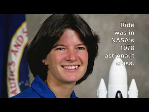 Sally Ride was the first American female astronaut in space 35 years ago