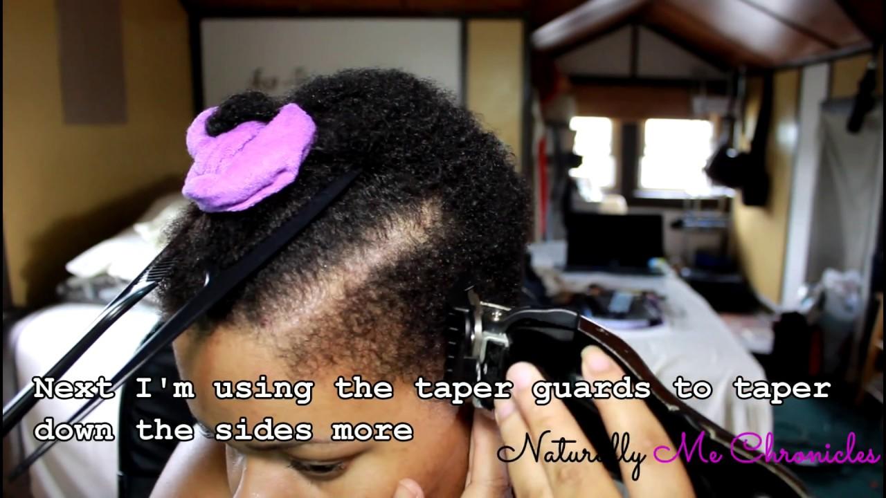 Tapered Twa Haircut Part 1 Youtube