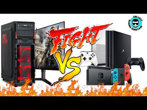 Computers VS Console Gaming in 2019