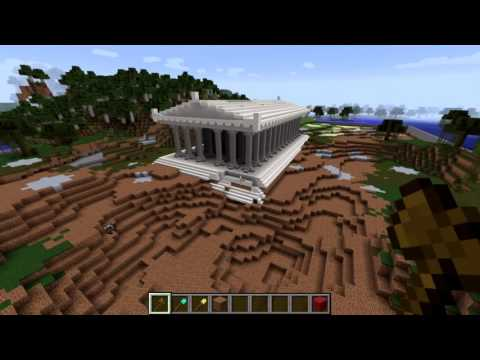 Minecraft Build Log 2  Greek Temple Ruins