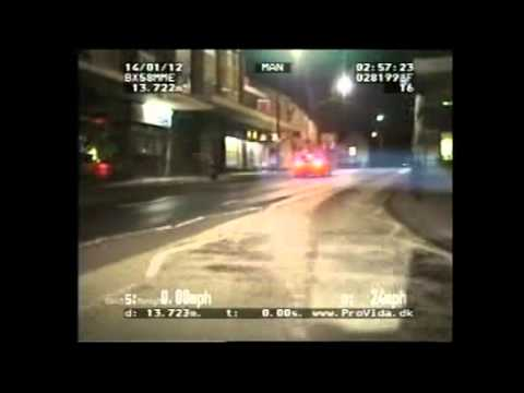 Jail for 180mph M6 chase driver Ben Westwood (ITV1 Central coverage)