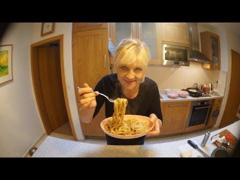 Špagety carbonara│Zuzana Machová