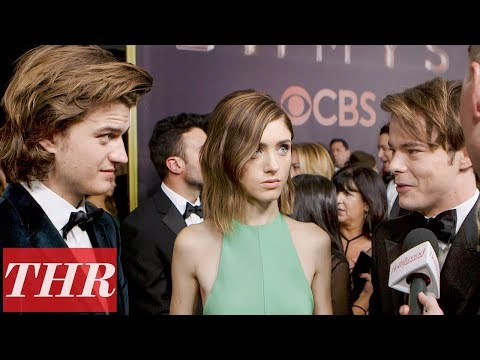 Download Youtube: 'Stranger Things' Cast on How The Show Has Changed Their Lives This Past Year | Emmys 2017