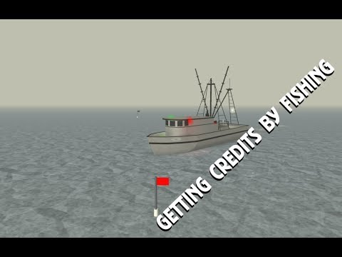 How to get Credits by Fishing | Dynamic Ship Simulator III