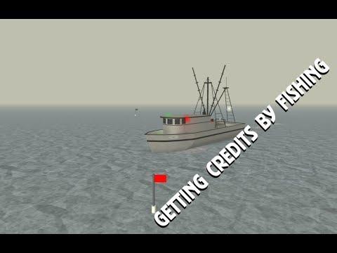 How to get Credits by Fishing | Dynamic Ship Simulator III