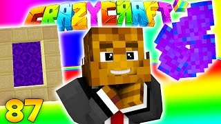 Minecraft CRAZY CRAFT 3.0 - NEW Wakanda Dimension (Super Heroes Mod) #87