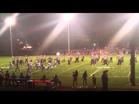 Mifflin High School Marching band 2015