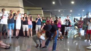 FABIAN Y NICOLINA WORKSHOP BACHATA SENSUAL I EN BENIDORM BK CONGRESS 2014