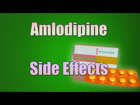 Amlodipine (norvasc) Side Effects - YouTube