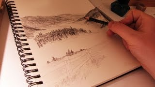 How to Draw a Scene Using Atmospheric Perspective