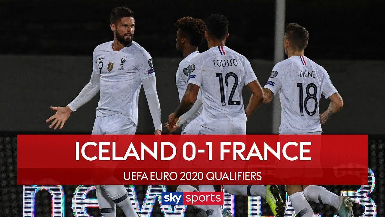 France secure narrow win | Iceland 0-1 France | UEFA Euro 2020 Qualifiers