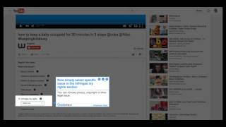 How to report copyrights infringement on YouTube in 2 easy steps @YouTube thumbnail