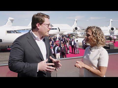 Bombardier à NBAA-BACE - Vue d'ensemble de la semaine