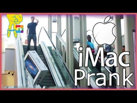 0 Pegadinha Quebrando iMac