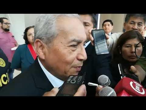"""Pedro Chávarry: fiscal José Domingo Pérez no me puede citar """"porque es mi inferior"""""""