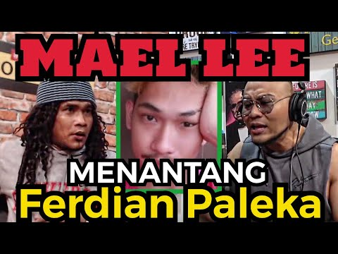 Maell Lee Tantangan Terbuka Tuk Ferdian Paleka❗️