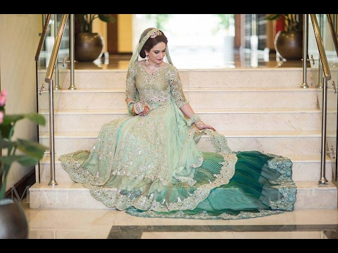 68917b2c32ddd Bridal Dresses walima || 2016 || 2017 || Pakistani || Indians - YouTube