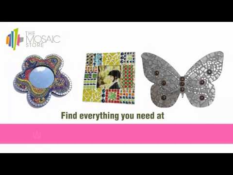Be Creative Craft Your Design With Mosaic Tiles And Supplies Australia