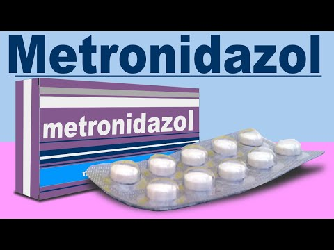 metronidazol para tratar parasitos
