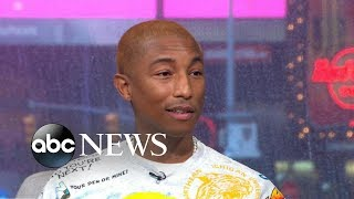 Pharrell Williams on 'GMA Day' Video