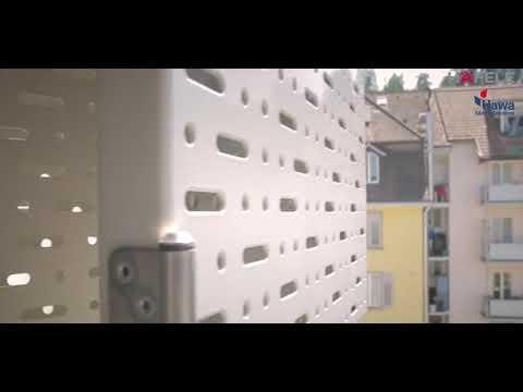 HAWA Folding sliding shutters – function and design - Hafele