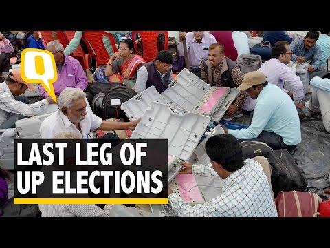 The Quint: Seventh Phase of UP Elections Commences Across 40 Constituencies