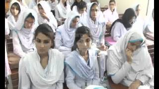 Govt Islamia College For Women Cantt Dengue Awareness Seminar Pkg By Fiza Noor City42