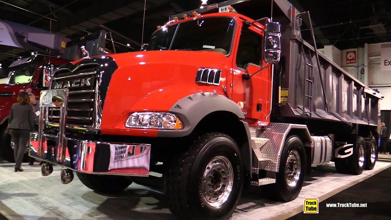 2018 mack dump truck with bibbeau bed walkaround 2018 truckworld toronto youtube - Mack truck pictures ...