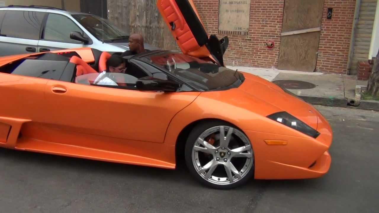 Replica Lamborghini Murcielago In Baltimore Youtube