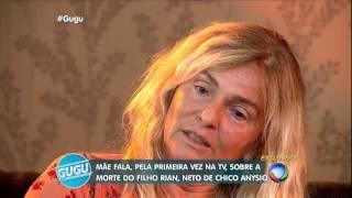 Mãe fala sobre a morte de Rian Brito, neto de Chico Anysio