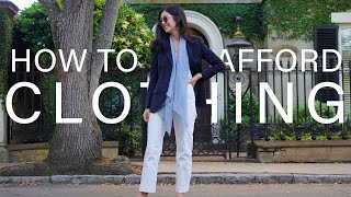 How To Afford Expensive Clothes   Budget & Saving Tips