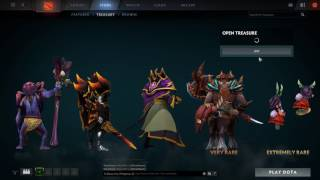 Dota 2 Opening 50+ Siltbreaker Rewards Treasure Chests (with 5 very rares)