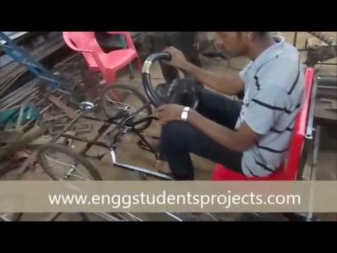 Mechanical / Automobile engg students project------Non Conventional Vehicle