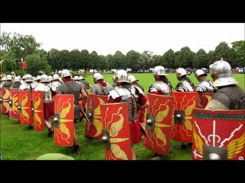 Download Youtube: Roman Soldiers - Demonstration of Imperial Power