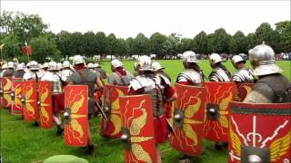 Roman Soldiers - Demonstration of Imperial Power