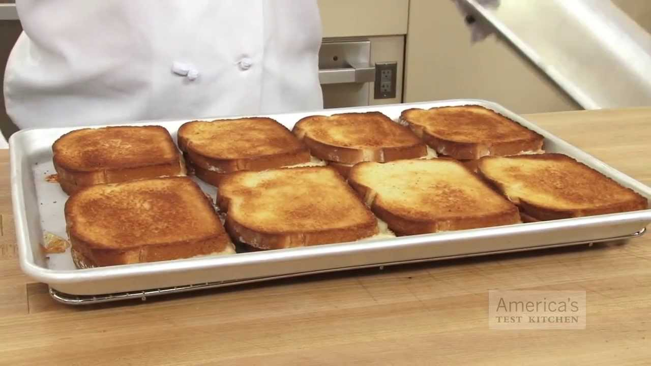 Grilled Cheese America S Test Kitchen